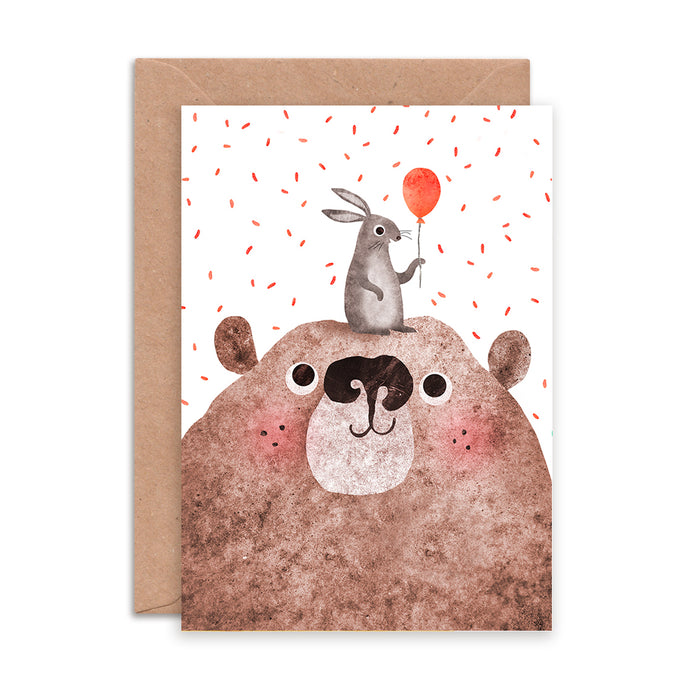 Bear and Bunny Card