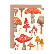 Load image into Gallery viewer, Toadstool Card