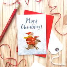 Load image into Gallery viewer, Merry Christmas Card by Emily Nash - ad&i