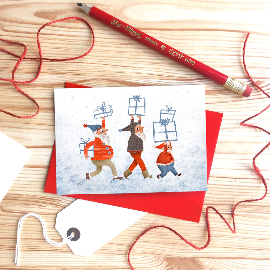 Christmas Little Helpers Card by Emily Nash - ad&i