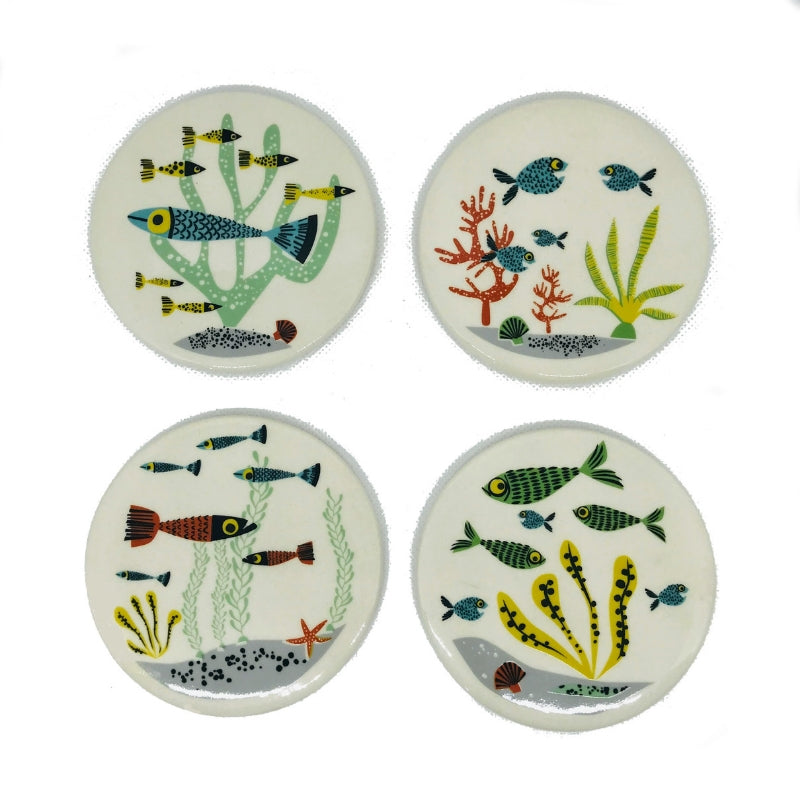 Fish Coaster Set of 4 - ad&i