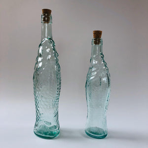 Italian Glass Fish Bottles - ad&i