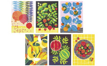 Load image into Gallery viewer, Fruit Salad A6 Postcard Pack by Printer Johnson - ad&i