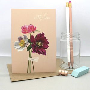 Bunches with Love Card - ad&i