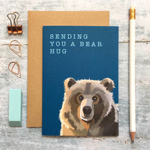 Load image into Gallery viewer, Sending a Bear Hug Card - ad&i