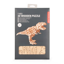 Load image into Gallery viewer, 3D T-Rex Dinosaur Wooden Puzzle - ad&i