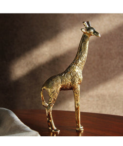 Decorative Brass Giraffe - ad&i