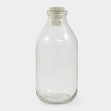 Load image into Gallery viewer, Glass Milk Bottle with Cork Stopper - ad&i