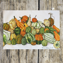 Load image into Gallery viewer, Gourds Tea Towel - ad&i