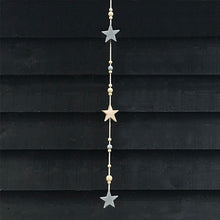 Load image into Gallery viewer, Star and Beads Garland - ad&i