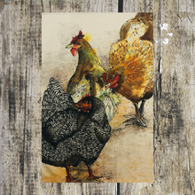 Load image into Gallery viewer, Hens Tea Towel - ad&i