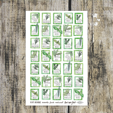 Load image into Gallery viewer, Eat Herbs Tea Towel