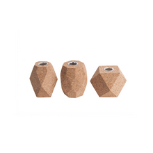Load image into Gallery viewer, Hexagon Cork Candle Holder