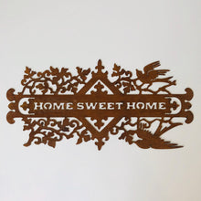 Load image into Gallery viewer, Rusty Home Sweet Home Sign - ad&i