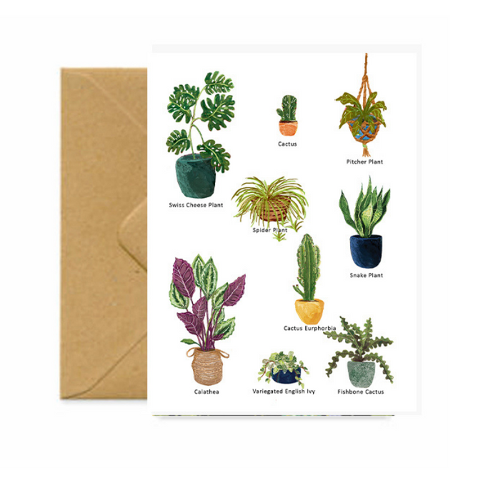 Plant Lovers Card