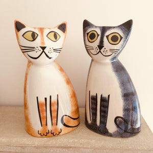 Grey Tabby Cat Money Box - ad&i