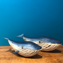 Load image into Gallery viewer, Mother and Baby Whale Set - ad&i