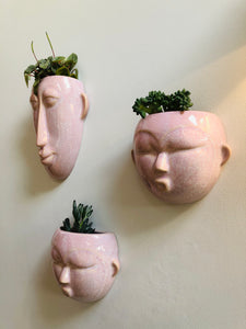 Round Mask Wall Planter - ad&i