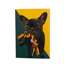 Load image into Gallery viewer, Ronnie French Bulldog Greeting Card - ad&i