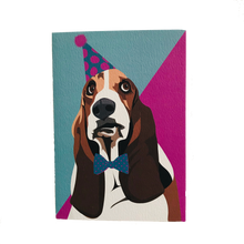 Load image into Gallery viewer, Daisy the Basset Hound Greeting Card - ad&i