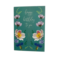 Load image into Gallery viewer, Floral Birthday Card - ad&i