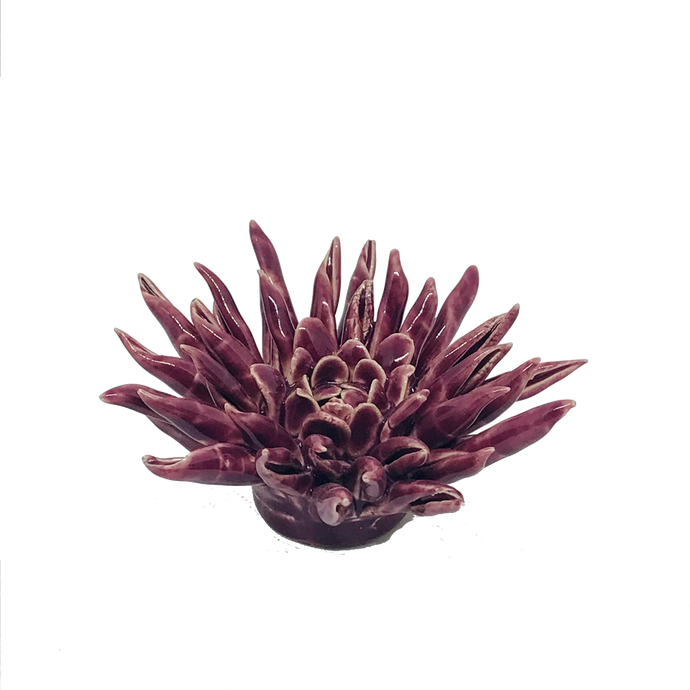 Purple Cactus Coral Flower Decor