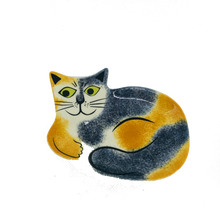 Load image into Gallery viewer, Tortoiseshell Cat Trinket Dish - ad&i