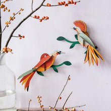Load image into Gallery viewer, Bird of Paradise Wall Hanging