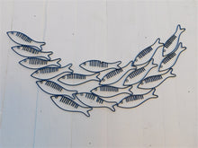 Load image into Gallery viewer, Just Keep Swimming Fish Wall Art - Blue - ad&i