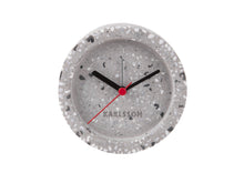 Load image into Gallery viewer, Tom Round Terrazzo Grey Alarm Clock - ad&i
