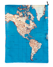 Load image into Gallery viewer, Travel Map Laundry Bags Set of 4 - ad&i