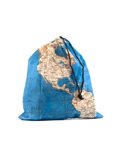 Travel Map Laundry Bags Set of 4 - ad&i