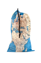 Load image into Gallery viewer, Travel Map Laundry Bags Set of 4