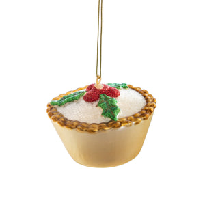 Mince Pie Christmas Tree Bauble