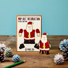 Load image into Gallery viewer, Pop Out Father Christmas Card - ad&i