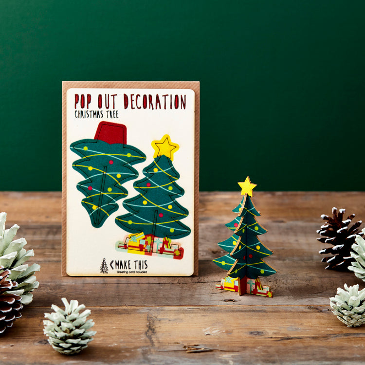 Pop Out Christmas Tree Card - ad&i