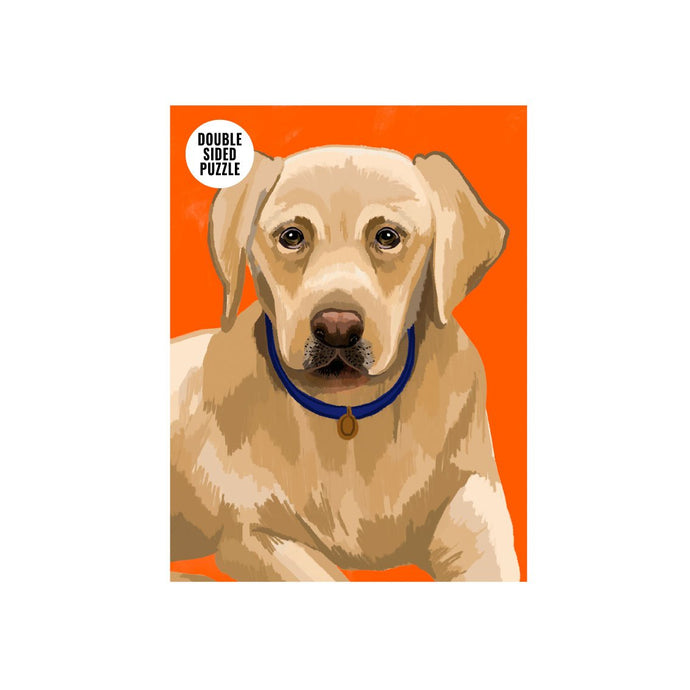 100 Piece Double Sided Labrador Jigsaw Puzzle