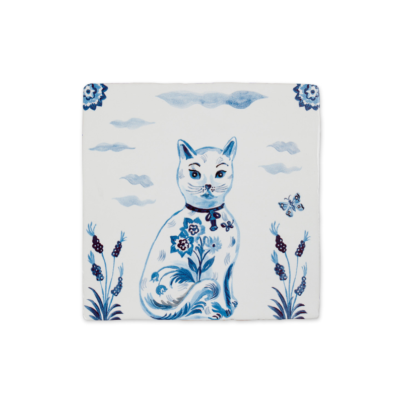 Le Chat Ceramic Story Tile
