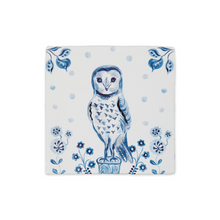 Load image into Gallery viewer, Le Hibou Ceramic Story Tile - ad&i