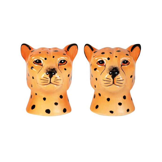Leopard Salt and Pepper Shaker Set