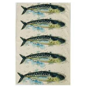 Mackerel Tea Towel - ad&i