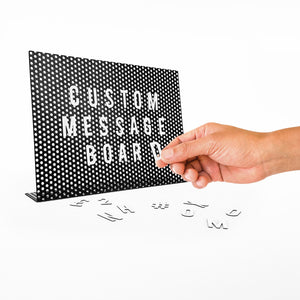 Magnetic Personalised Message Board - ad&i