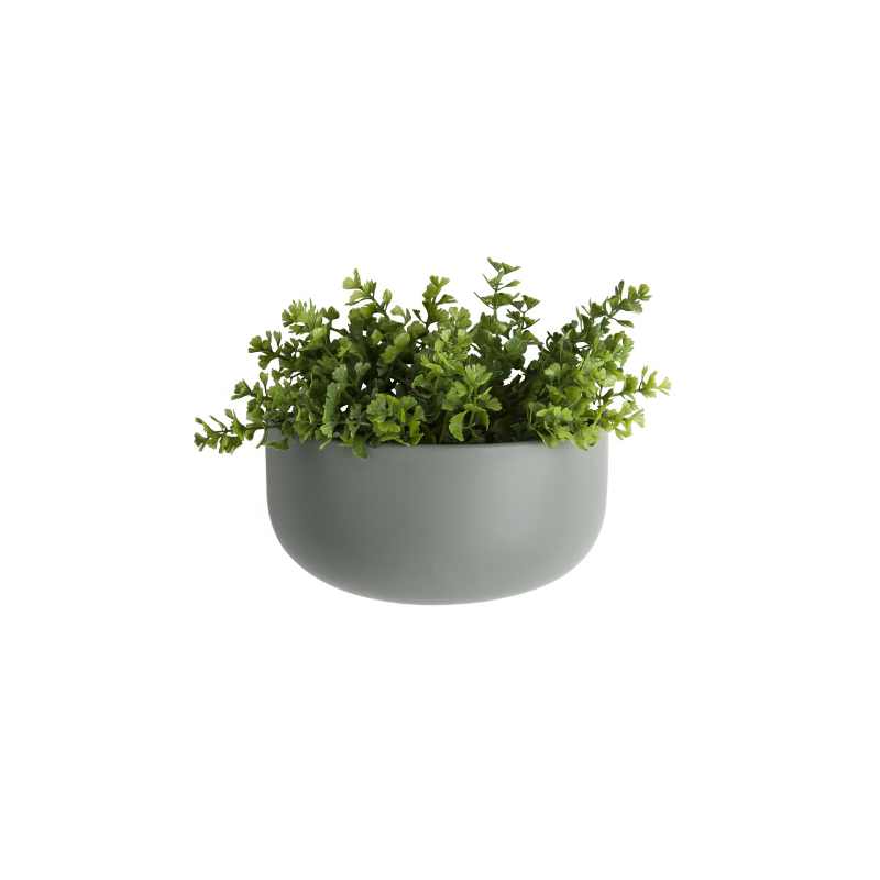 Oval Wall Matt Ceramic Plant Pot - ad&i