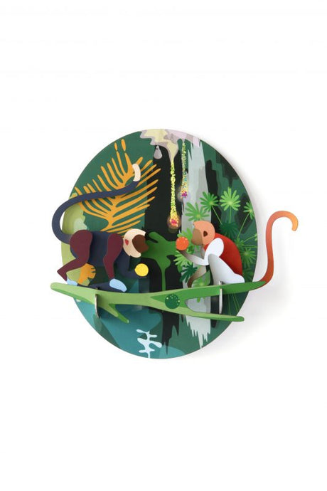 Jungle Monkeys Wall Hanging