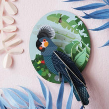 Load image into Gallery viewer, Grey Parrot Exotic Bird Wall Hanging - ad&i