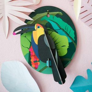 Toucan Exotic Bird Wall Hanging - ad&i