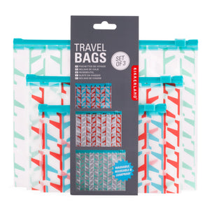Travel Wash Bags Set of 3 - ad&i