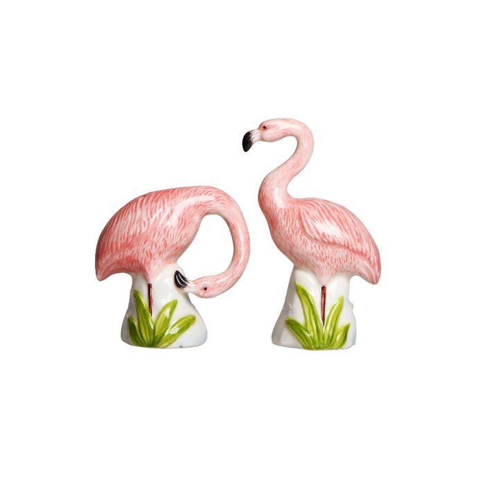 Flamingo Salt and Pepper Shaker Set - ad&i