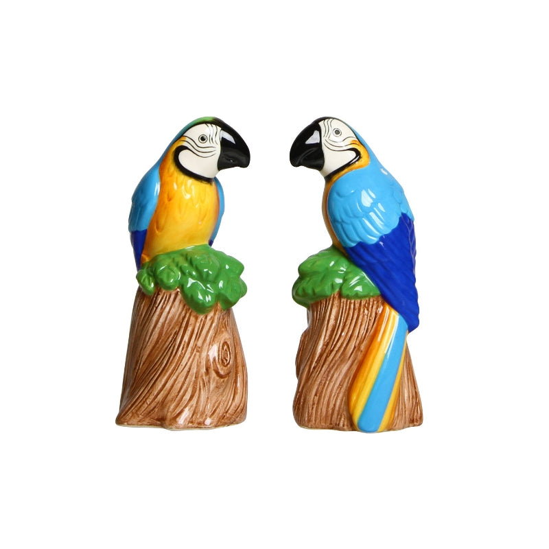 Parrot Salt and Pepper Shaker Set - ad&i