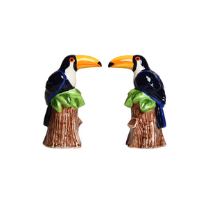Toucan Salt and Pepper Shaker Set - ad&i